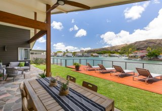 Photo of Gorgeous Contemporary Marinafront Remodeled Home in Hawaii Kai