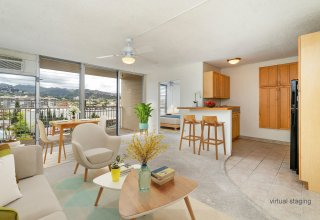 Photo of Spacious Upgraded Apartment in Convenient Kapahulu Location