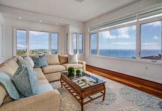 Ocean View Thoughtfully Designed Home - The Pointe in Hawaii Loa Ridge