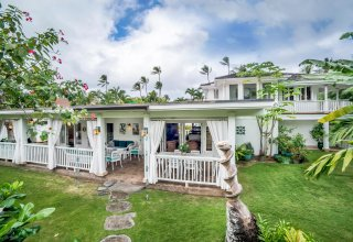 Photo of Charming Lanikai Island Style Retreat - 1 House from Lanikai Beach