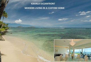 Oceanfront Kahala Luxury Home