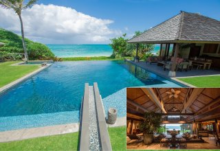 Private Oceanfront Gem in Malaekahana, North Shore - Nearly 1 Acre