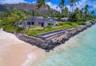 Photo of Oceanfront 25,700 SF Lot - Classic Lanikai Home