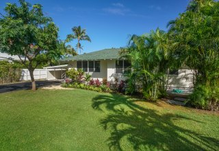 Photo of Two Homes on 11,394 SF lot in Lanikai Walking Distance to Beach
