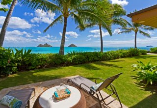 Oceanfront Lanikai Beach House