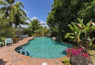 Photo of 17,720 SF Kuulei Tract Property - Beautiful One-Level Home Steps to Kailua Beach