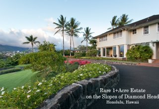 Photo of Rare 1+Acre Diamond Head Estate