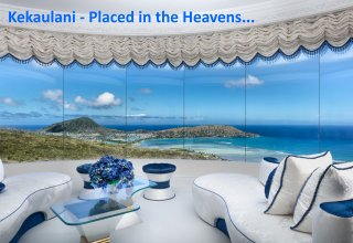 Sweeping Ocean & Mountain Views, Glamour & Elegance in Hawaii Loa Ridge