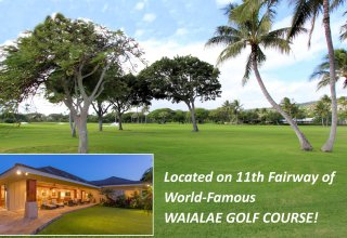 Waialae Golf Course, 11th Fairway - One-Level Luxury Home