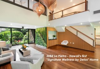 First Signature Wellness by Delos Home in Hawaii - Newly Designed for Healthy Living in Prestigious Diamond Head Location