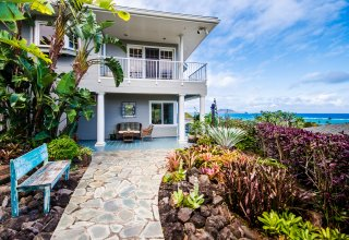 Photo of 1045 Koohoo Street   Ocean View Lanikai Retreat - TWO HOMES on 15,798SF Lot