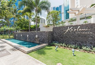 Koolani #1104 - Great Amenities & Location; Walk to Ala Moana Shopping Center