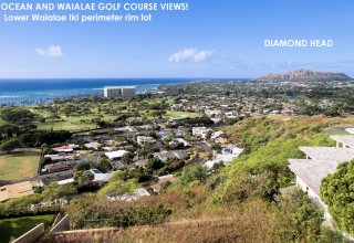 1544 Kamole Street   16,000 SF Waialae Iki Ocean View Lot - Includes Building Plans!