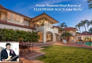 Home of Fleetwood Mac's John McVie - Private Diamond Head Retreat