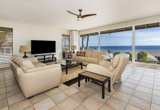 Waialae Iki Ocean View Single-Level Island Style Home