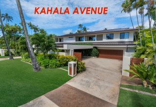 Kahala Avenue Contemporary Home across Beach Access