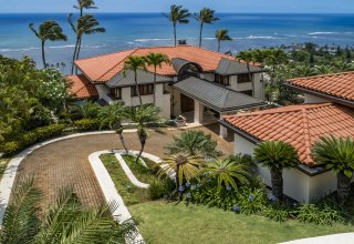 Ocean View Architectural Jewel in the Hawaii Loa Ridge Gated Community