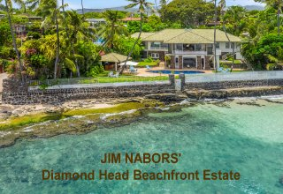 JIM NABORS' DIAMOND HEAD BEACHFRONT ESTATE