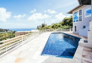Private Well Maintained Ocean View Waialae Iki Home - Ideal for Multi-Generational Living