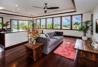 Photo of Ocean & Mokulua Island Views - Remodeled Lanikai Hillside Home