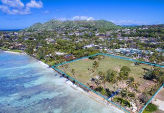 Kahala Oceanfront Trophy Property - 2.76 Acres (11,177 Sq Meters)