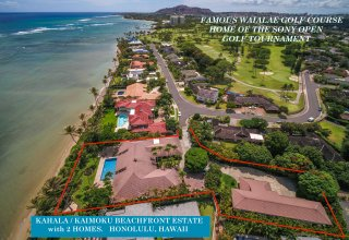 Beachfront Estate - Two Homes on nearly 1 Acre Lot