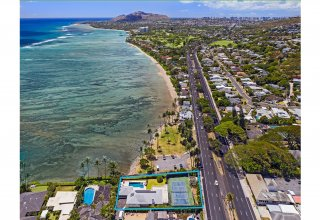 Gorgeous Oceanfront Remodel on Wailupe Circle - 20,974 SF Lot