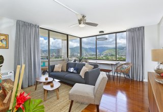 Professionally Designed Boutique Condo - Waikiki Skytower #2001