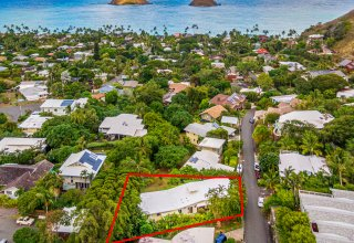Lanikai Hillside Home with Mokulua Island & Ocean Views