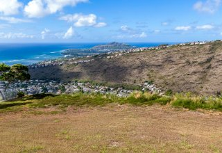 Ocean View Land in Gated Community, Hawaii Loa Ridge