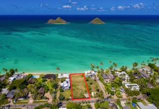 Lanikai Oceanfront 17,000+SF Lot