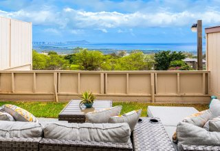 Panoramic Ocean/Diamond Head Views - Remodeled Makakilo Townhome, Palehua Gardens